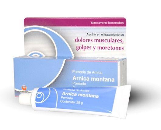 Dolores Musculares Golpes Arnica Montana En Pomada By Medicor Dolor Muscular Arnica Montana Homeopaticos