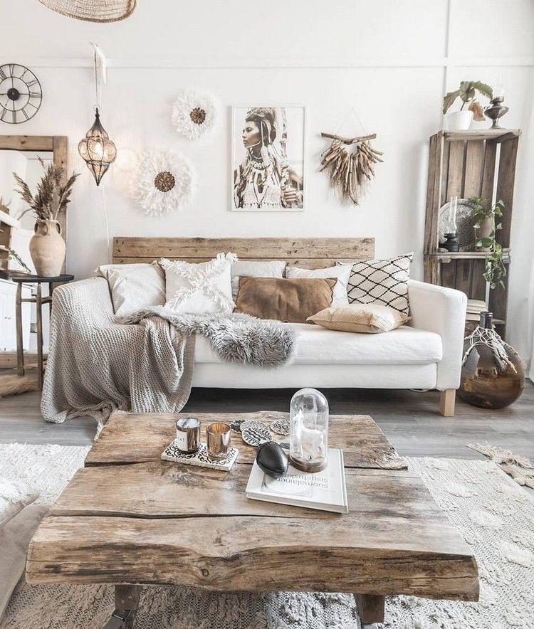 Boho Chic Home Decor Plans And Ideas Strandhuis Wohnzimmer