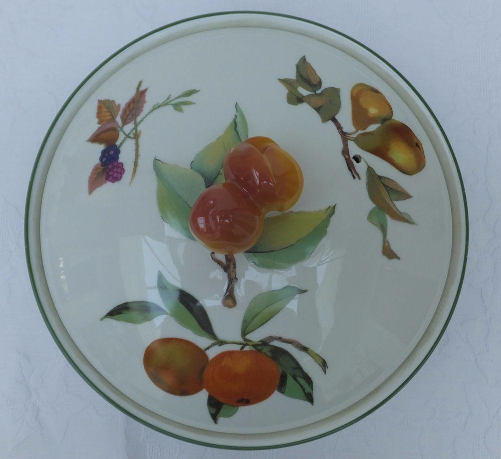 High Quality Porcelain · Evesham Vale Royal Worcester Fine Porcelain Oven ...