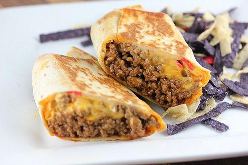 Taco Bell Beefy Nacho Griller Recipe Blogchef Recipe Food Recipes Mexican Food Recipes