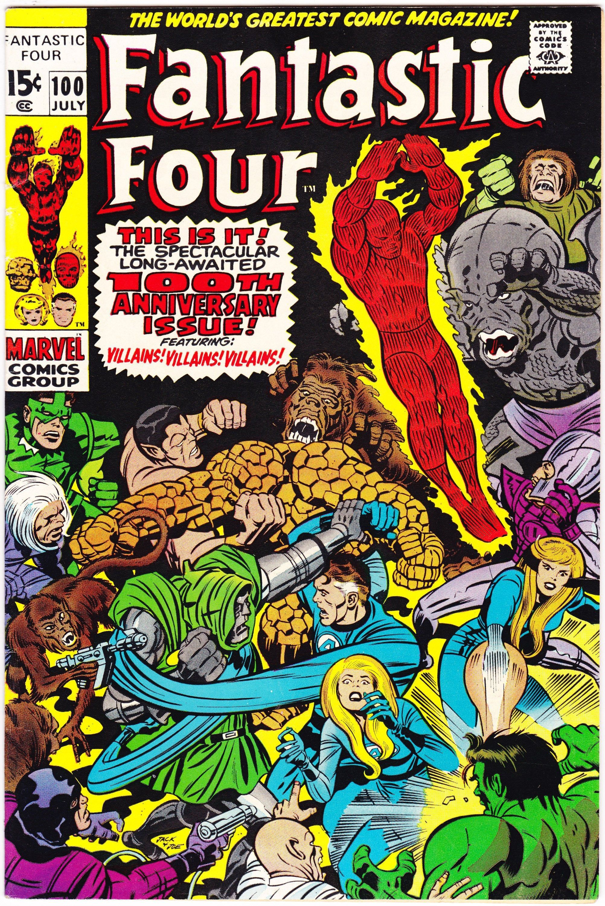 Fantastic Four 100 Comics, Gifts, Books. 1970 Marvel, VF+ (8.5) #comicbooks