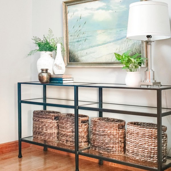 Tanner Long Console Table In 2020 With Images Long Console Home Decor Entryway Tables