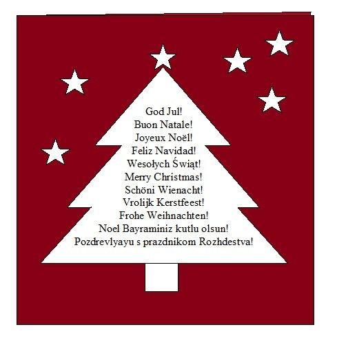Weihnachtskarten selber machen mit spruch weihnachten pinterest karten weihnachtskarten - Weihnachtskarten schreiben ideen ...