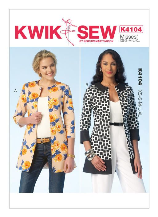 K4104 Kwik Sew Patterns Sewing Patterns For Me Pinterest