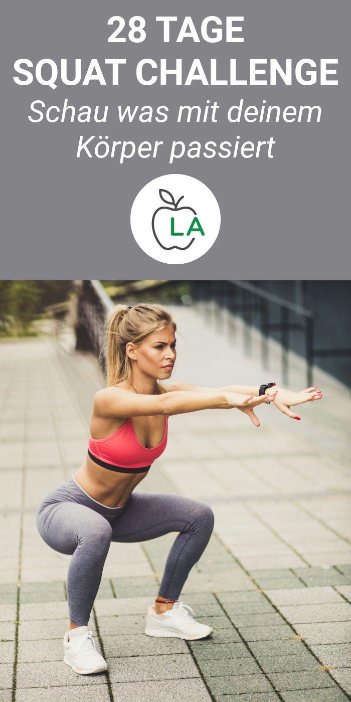 28 days Squat Challenge - Tight legs through squats - #challenge #squat #squats #through #tight - #FitnessInspo