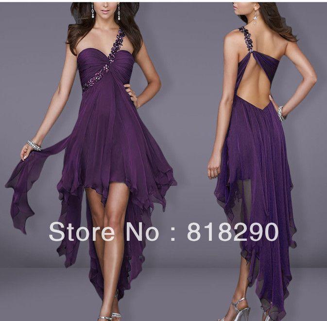 Vestido de moda 2013 de noche cortos