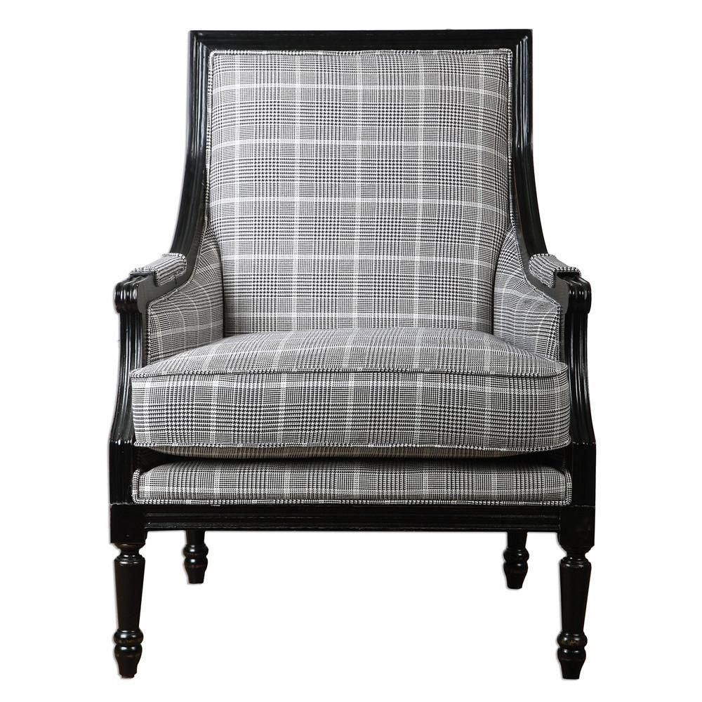 Plaid Arm Chair In 2018 Contemporary Furniture Armchair Accent