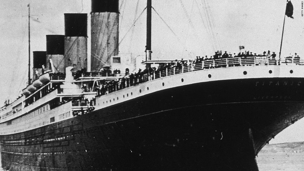 what year was the titanic built