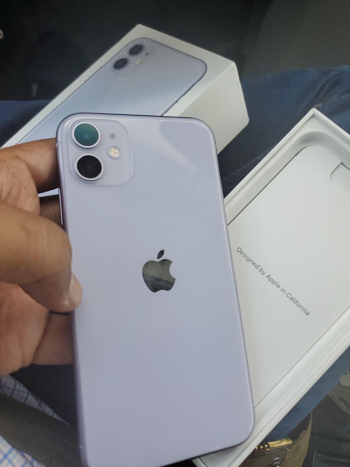 iPhone 11 Purple 64 GB Sprint financed in 2020 Iphone