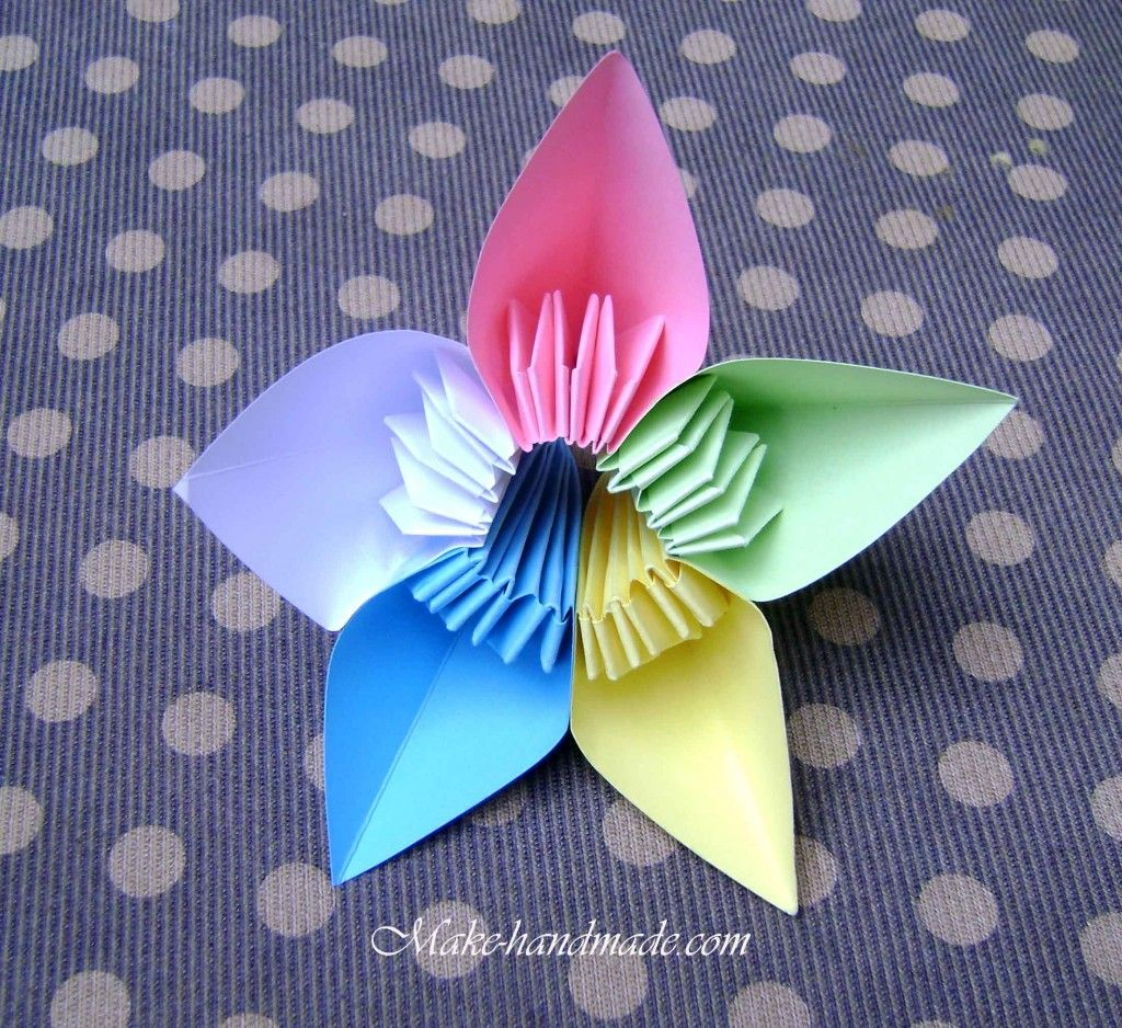 Kasudama Flowers Origami Tutorial I Love These But Need Video