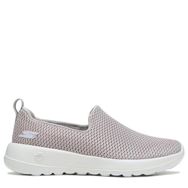 96316eca5d3 Skechers Women s GOwalk Joy Wide Slip On Walking Shoes (Taupe)