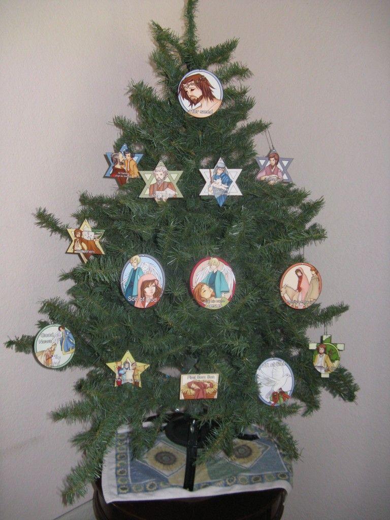 Jesus Christmas Tree | CHRISTmas | Pinterest | Christmas tree ...