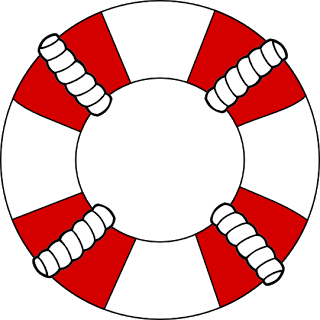 free svg life preserver life buoy ring sensationallychic boutique rh pinterest com life preserver ring clipart