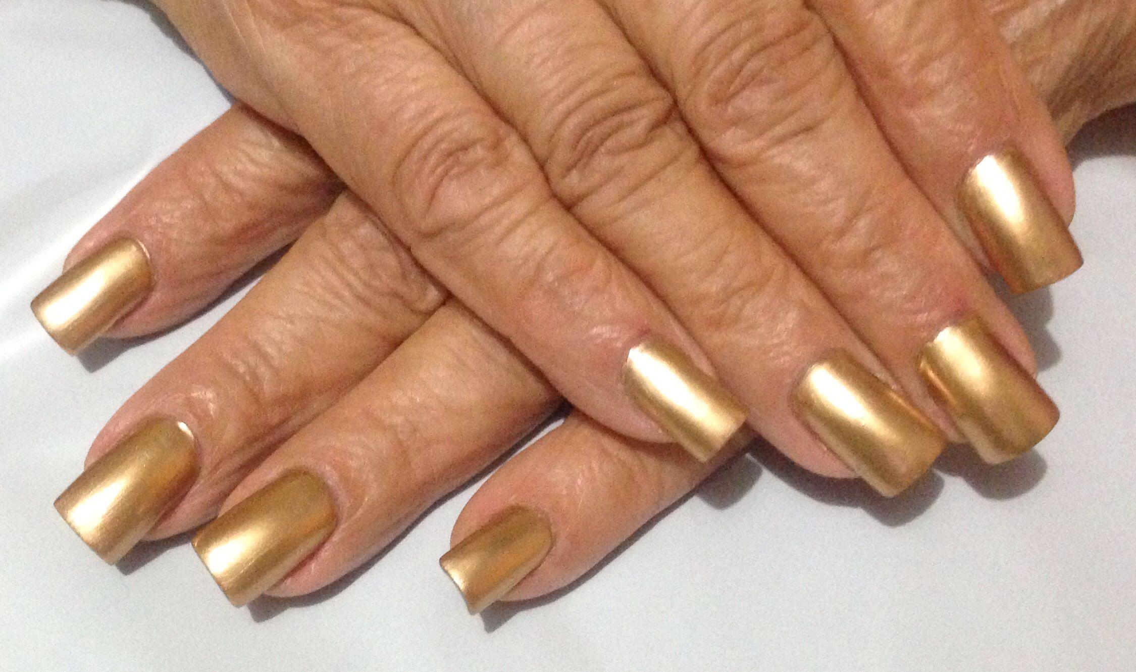 14k Gold Nails