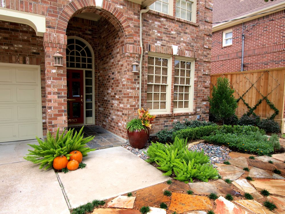 Texas Residential Landscape Pictures Residential