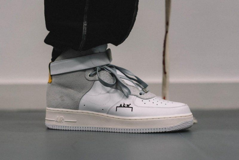 competitive price 682ff 1dbae NikeLab x A-Cold-Wall Air Force 1 High Sneakers Review