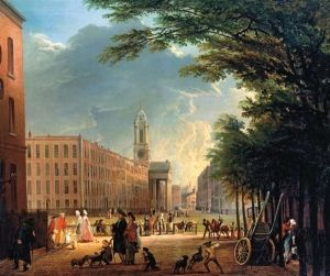 Hanover Square by Elias Martin (1769)
