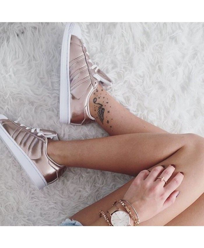 1d4acb2ed99 Adidas Superstar Traniers All In Rose Gold