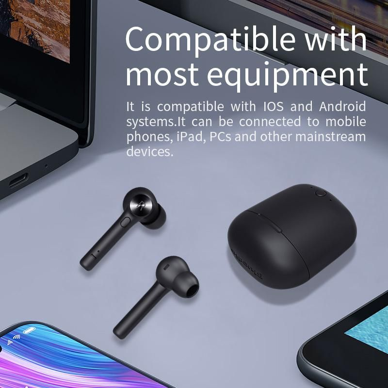 Wireless Bluetooth Earbuds Headset With Charging Box Built In Micropho Creationsg In 2020 Earbuds Bluetooth Earbuds Wireless Wireless Bluetooth