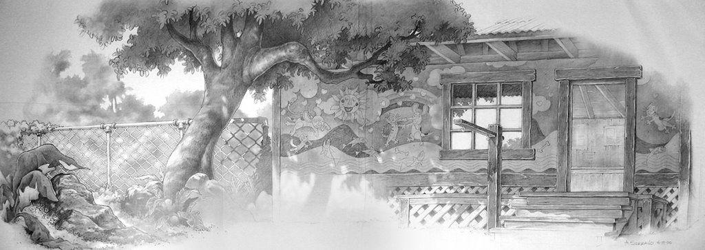lilo and stitch background sketches - Google Search ARMANDO - background sketches