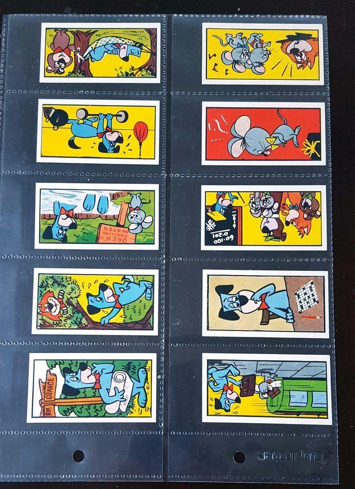 MINT 1963 TV YOGI BEAR SWEET CIGARETTE CARDS BARRATT HANNAH BARBERA CARTOON SET    eBay