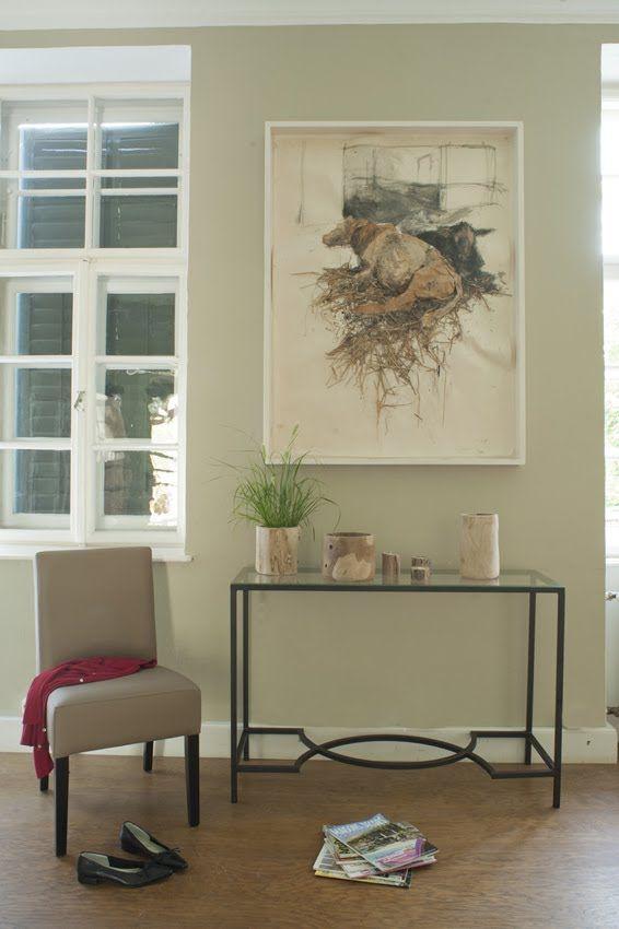 Wohnzimmer oder Flur einrichten modern im mediterranen | Flur ...