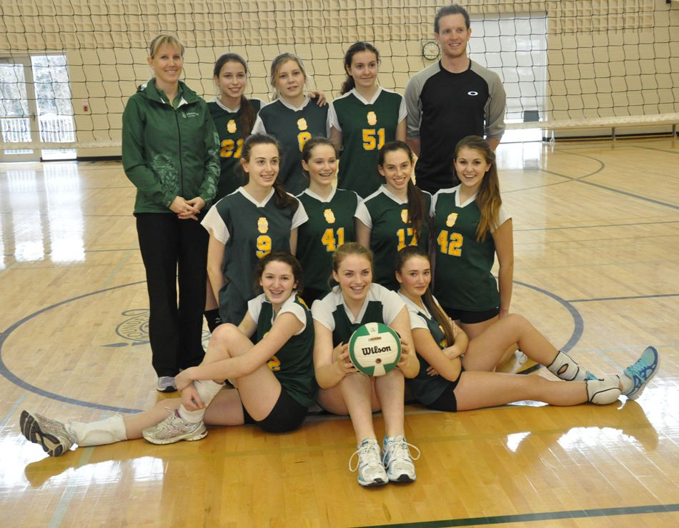 Jr Volleyball Team 1st Place Cisaa Champions For 2013 Volleyball Team College Sports