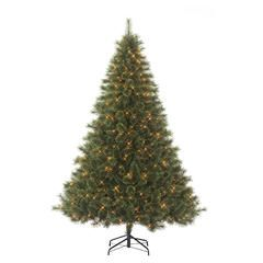 75 westchester deluxe cashmere pine pre lit christmas tree with 600 clear lights sears