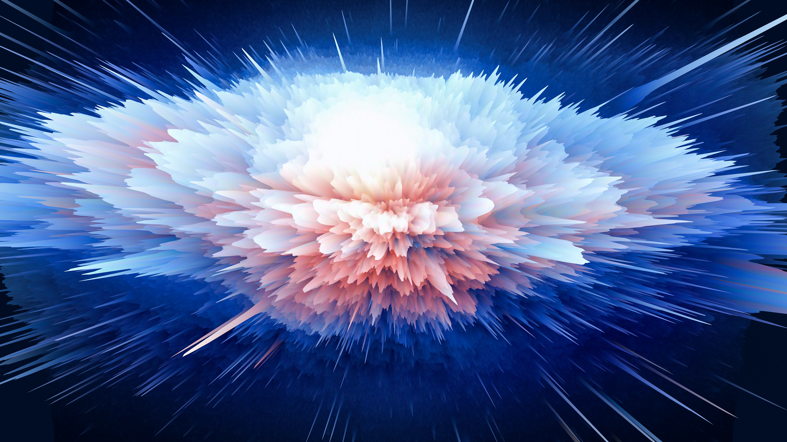 Particle Explosions on Behance Adobe