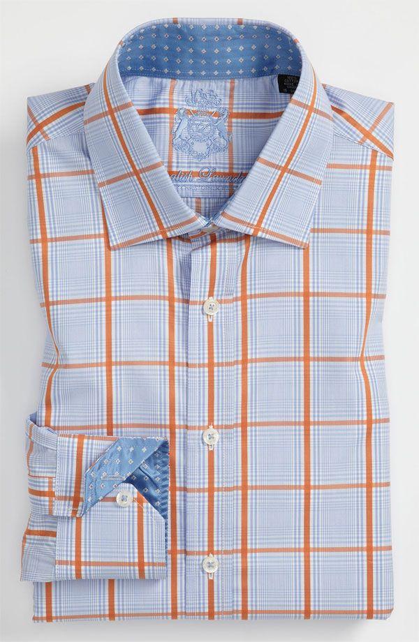 English Laundry Trim Fit Dress Shirts Camisas Formales Camisas Camisas Hombre