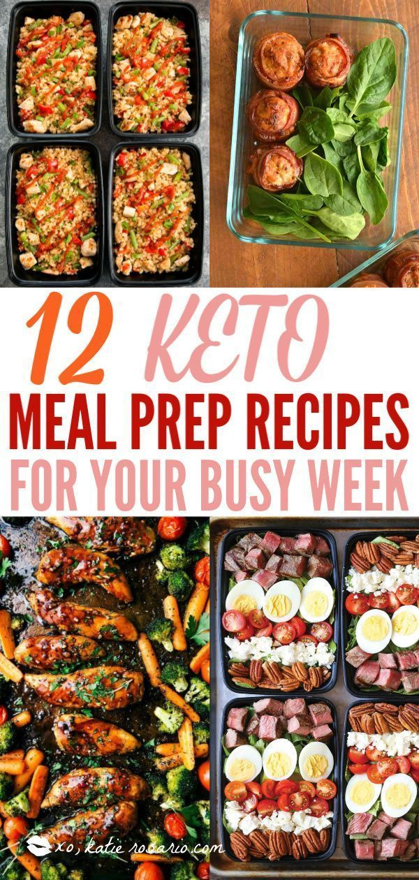 Photo of 12 Keto Meal Prep Recipes for Your Busy Week – New Ideas