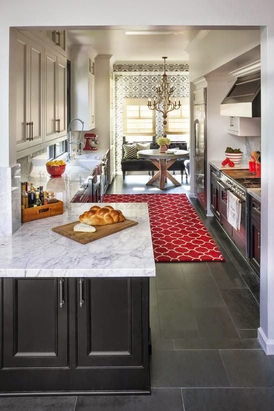 decorology how to add accents of red into your space kitchen rh pinterest com
