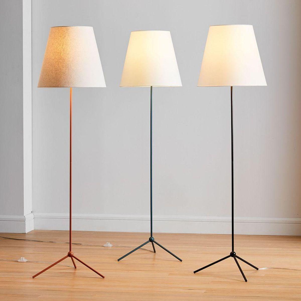 Tapered Shade Floor Lamp West Elm Canada Floor Lamp Lamp Outdoor Floor Lamps