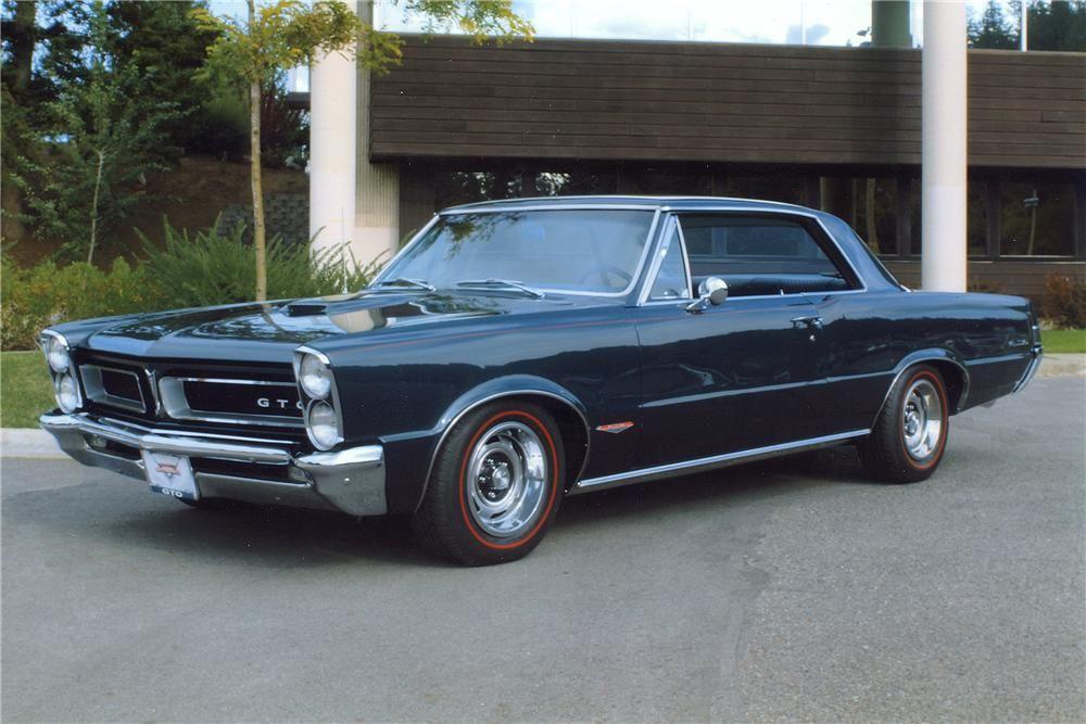 1965 Pontiac Gto 2 Door Hardtop Barrett Jackson Auction Company 1965 Pontiac Gto Pontiac Gto Pontiac Cars