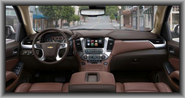 2015 Chevy Traverse Interior