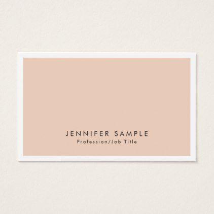 Professional Salon Elegant Modern Creative Design Business Card