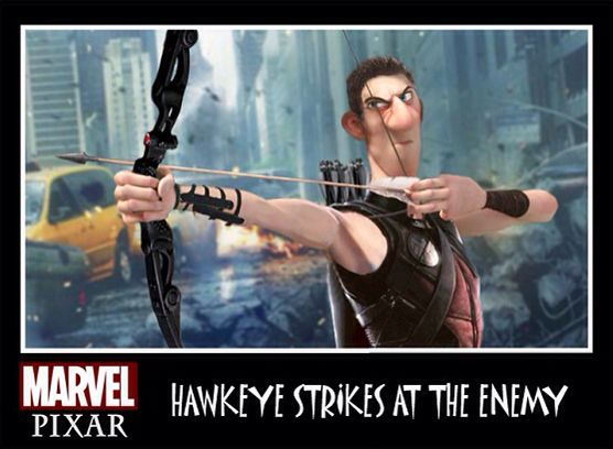 What If Pixar Did.....The Avengers !