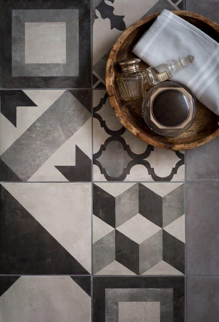 Decorative Porcelain Tile Pleasing Casablanca Range  Mandarin Stone  Decorative Hexagon And Square Design Ideas