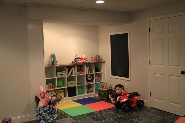 basement playspace in progress by anythingpretty, via Flickr