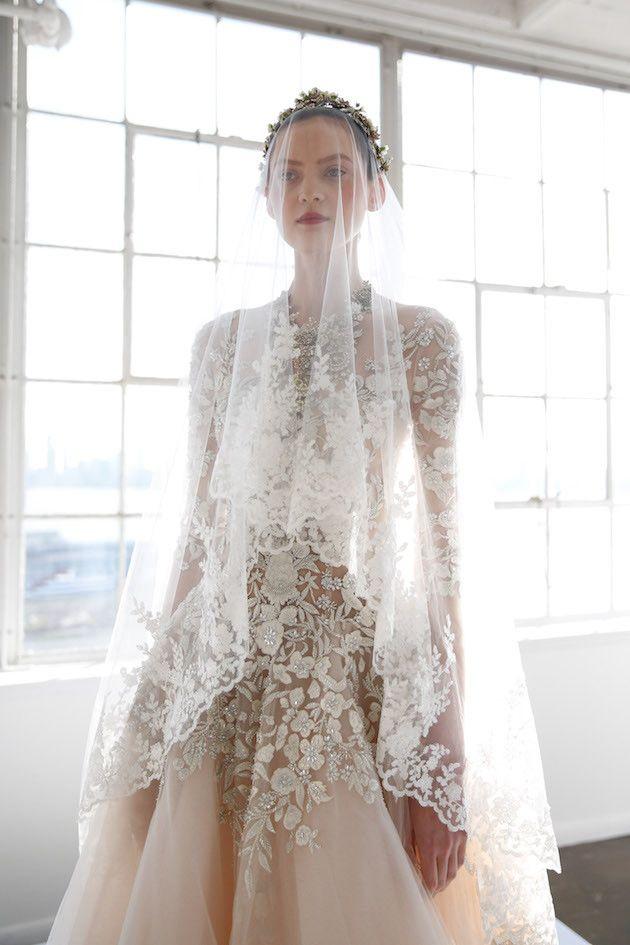 Marchesa Wedding Dress Collection S/S 2017   Marchesa wedding dress ...