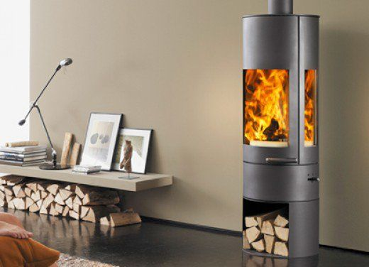 How to Light a Fire in a Wood-Burning Stove | Freestanding