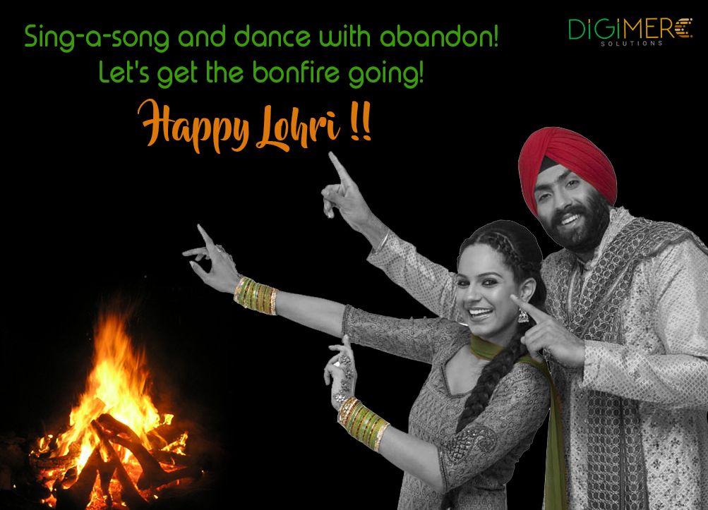 Time to dance to the tune of Punjabi DHOL. Happy Lohri to ...