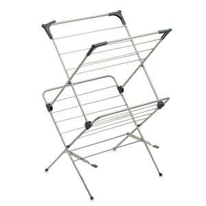 Bed Bath And Beyond Drying Rack Beauteous Floor Model Clothes Drying Rack Metal  Types And Styles Of Drying