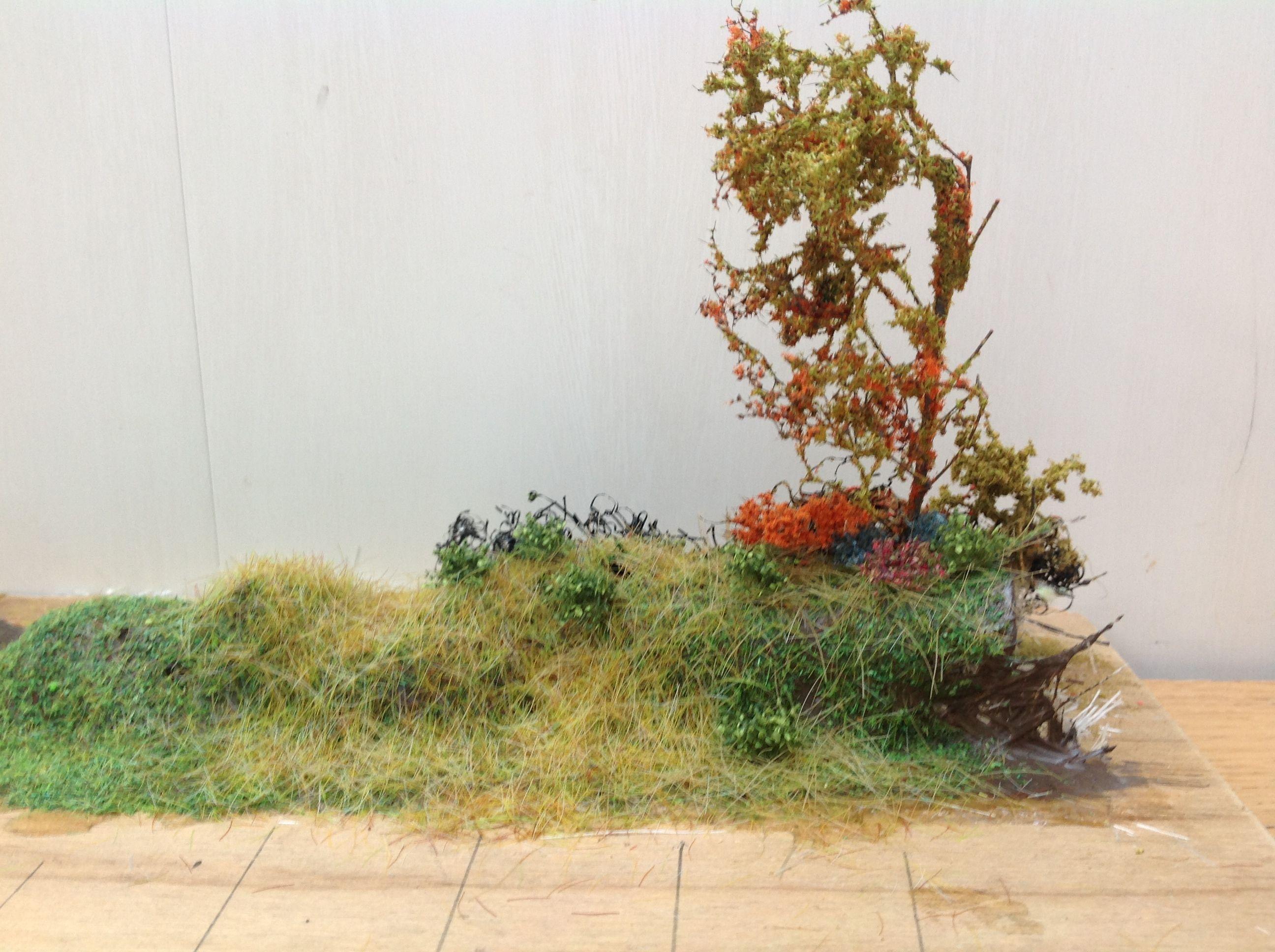 how to make trees for model railways