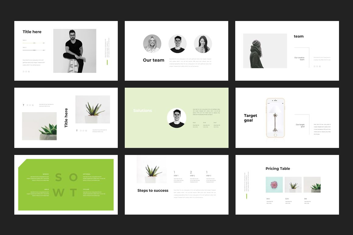 Clean Powerpoint Template Best Web Templates Templates