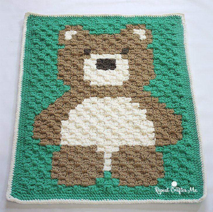 Crochet Baby Blankets ( Boys ) - Free Crochet Patterns | Manta ...