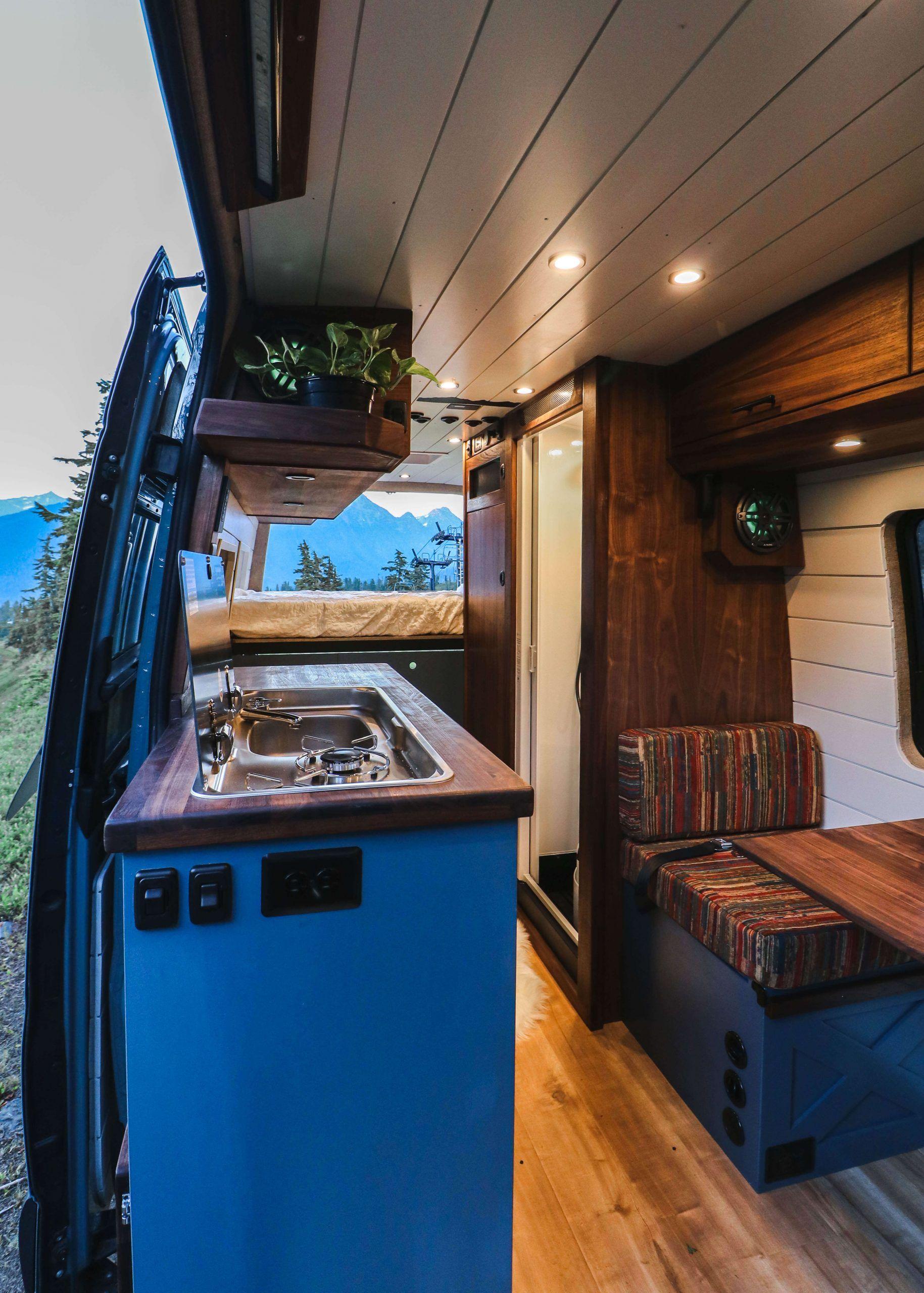 Joseph Freedom Vans Van Life Diy Van Conversion Interior Build A Camper Van
