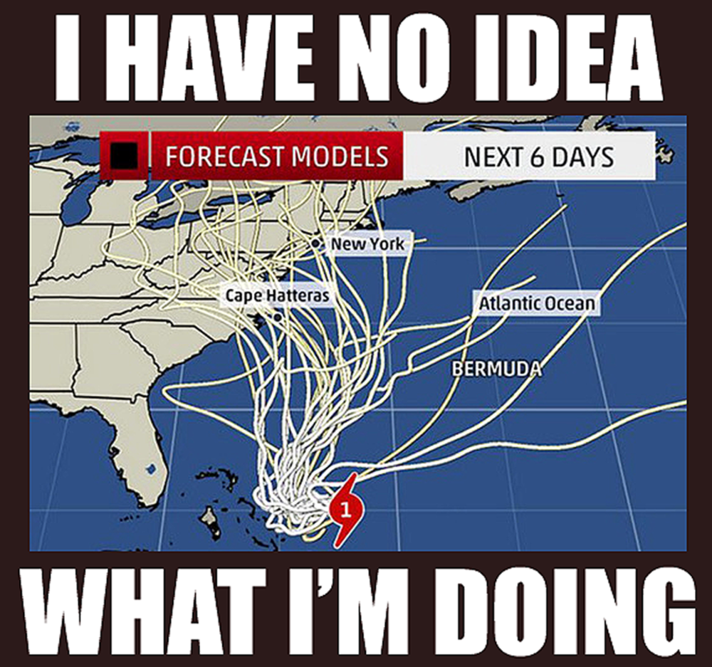 Hurricane Joaquin Spawns Storm Memes In Face Of Uncertain Path Hurricane Memes Florida Funny Disaster Preparedness
