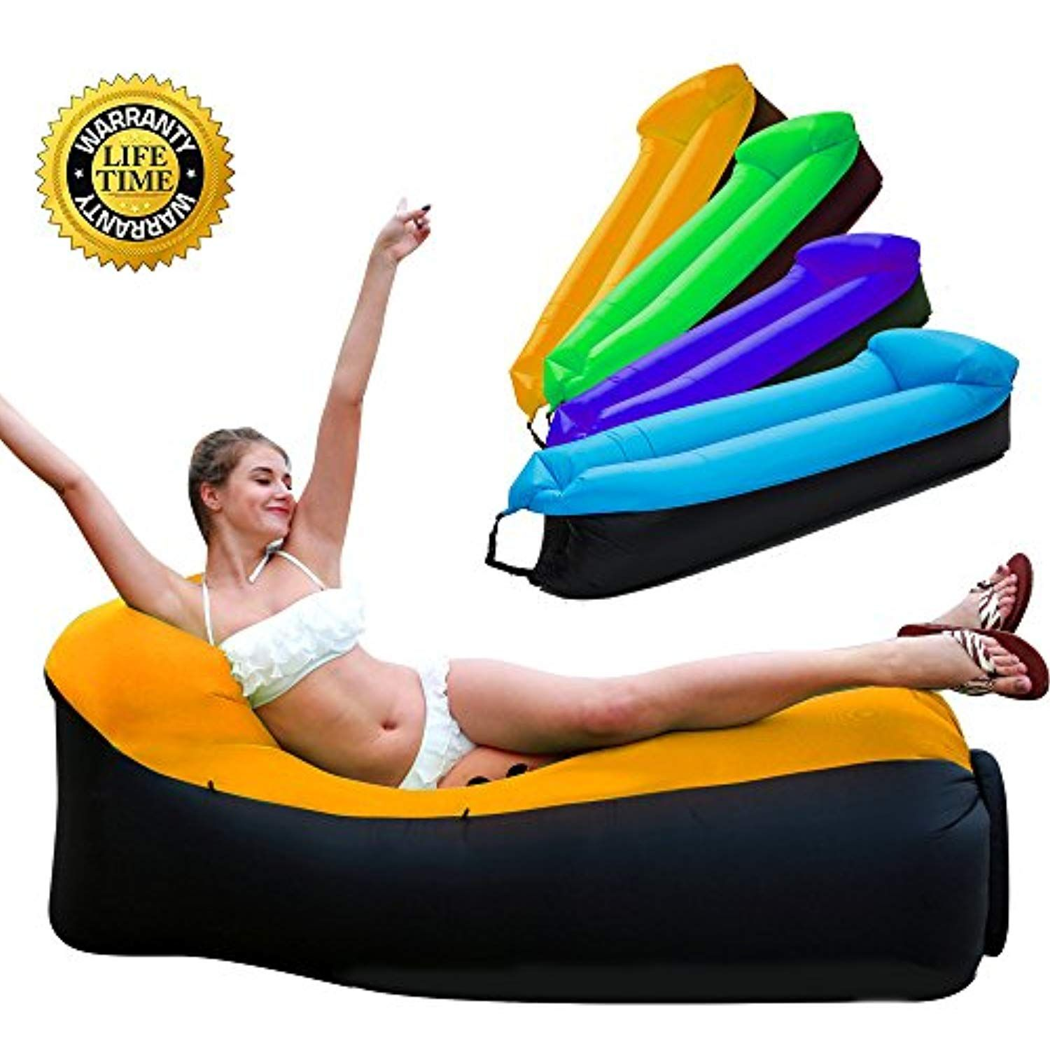 Inflatable Lounger Inflatable Couch Air Lounger Air Chair Lounger