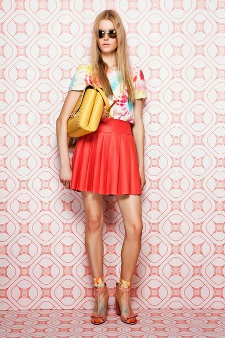 from Moschino Cheap And Chic Resort 2014 Collection #fashion #style
